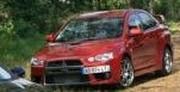 Une Mitsubishi Lancer Evo XI hybride Diesel