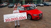 Audi A4 - Audi 80 : 10 millions de berlines produites