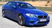 Essai BMW M5 sur circuit
