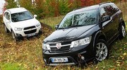 Essai Chevrolet Captiva 2.2 VDCi 163 ch vs Fiat Freemont 2.0 Mjt 170 ch : De cinq à sept