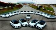 Audi lance le test de l'A1 e tron à Munich