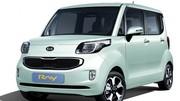 Kia Ray : un petit cube à roulettes pour la Corée, uniquement