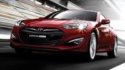Hyundai Genesis Coupé restylé : premières photos