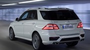 Mercedes ML 63 AMG : Blanche comme une avalanche