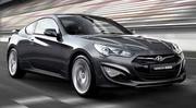 Hyundai Genesis Coupé restylé : les performances et plus de photos