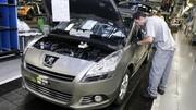 PSA : plus de 4000 suppressions d'emplois en France en 2012