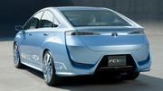 Toyota FCV-R : un concept de voiture à pile à combustible à Tokyo
