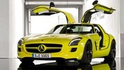 Mercedes SLS AMG E-Cell : ouverture des commandes mi-2012 !