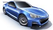Subaru BRZ STI Concept de près