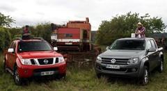 Essai Volkswagen Amarok vs Nissan Navara : une affaire d'hommes