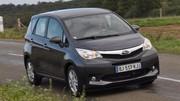 Essai Subaru Trezia 1.4 D 90 ch : Déviation obligatoire