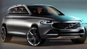 Volvo XC90 : premiers croquis de la prochaine génération