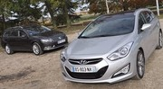 Essai Hyundai i40 SW 1.7 CRDi 136 ch vs Volkswagen Passat SW 2.0 TDI 140 : Objectif Europe