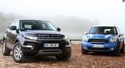 Essai Mini Countryman vs Land Rover Range Rover Evoque : coup de coeur assuré