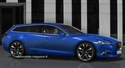 Future Mazda 6 Fastwagon : Travail de fond... et de forme