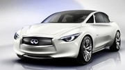Future compacte Infiniti: une base de Mercedes Classe A