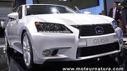 La Lexus GS450h à 137 g/km de CO2