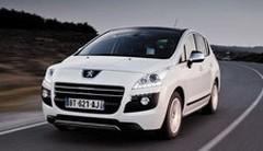 """Peugeot 3008 HYbrid4 : """"Voiture la plus Verte de Suisse"""" 2012"""