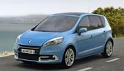 Les Renault Scénic et Grand Scénic restylés pour 2012