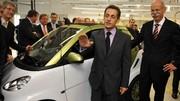 Nicolas Sarkozy : 400 radars de plus en 2012, éthylotests obligatoires