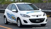 La Mazda 2 électrique à l'essai