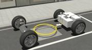 La recharge à induction testée par Mercedes sur la Classe B E-Cell