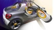 Smart for-us : un concept de petit pick-up au Salon de Detroit 2012