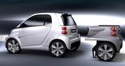 Rinspeed a un truc pour accroitre l'autonomie de la Smart électrique