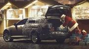 Le Père Noël roule en Jaguar XF Sportbrake