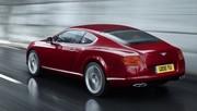 Bentley présente son nouveau V8 sur la Continental