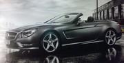 Première image volée de la nouvelle Mercedes SL
