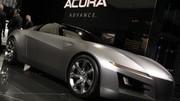 Un concept Honda NSX à Detroit