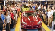 L'usine symbole de Chrysler réouverte pour la nouvelle Dodge SRT Viper