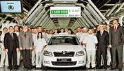 Skoda Octavia : 1.5 million d'exemplaires produits