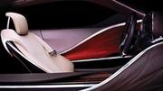 L'habitacle du concept Lexus