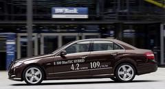 Mercedes E300 Bluetec hybride, une reine du rapport prestations / consommation