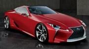 Lexus LF-LC Concept : photo avant l'heure