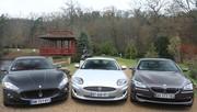Essai BMW 650 i Coupé vs Jaguar XK V8 vs Maserati Gran Turismo S : symphonie en V8 majeur !