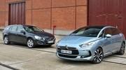 Essai : La Citroën DS5 affronte la Volvo V60