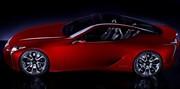 Le concept Lexus LF-LC présenté à Detroit sera un coupé 2+2