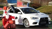 Essai Mitsubishi Lancer Évolution 2-0 Turbo 4WD GSR : Père Noël express