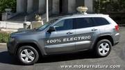 Un Jeep Grand Cherokee converti à l'électricité
