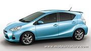 La Toyota Aqua est commercialisée au Japon
