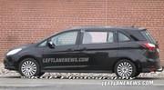 Futurs Ford S-Max et Galaxy 2013 : photos du mulet