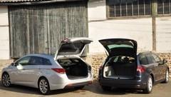 Essai : la Hyundai i40sw 1.7 CRDi 136 ch affronte la Citroën C5 Tourer HDI 140