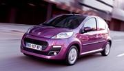 Peugeot 107 : retouchée