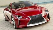 Nouvelles images du Lexus LF-LC Concept