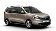Premières images du monospace Dacia