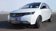 Tata Indigo Manza Hybrid Concept