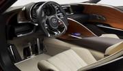 Lexus LF-LC, hybride sur tous les plans